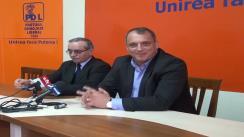 Conferință de presă susținută de PDL Iași