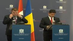 Conferință de presă susținută de Titus Corlățean și John Baird, ministrul canadian de Externe