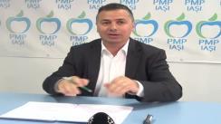 Conferință de presă susținută de deputatul PMP, Petru Movilă