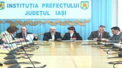 Ședința Comisiei de Dialog Social la Instituția Prefectului Județului Iași