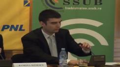 """Dezbaterea cu tema """"Rolul Parlamentului European în viața tinerilor"""""""