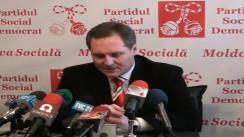 Conferința de presă a liderului PSD - Dumitru Braghiș