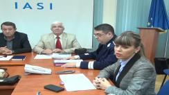 Conferință de presă susținută de Inspectoratul de Poliție Județean Iași