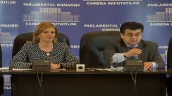 Conferință de presă susținută de deputații Grupului parlamentar al PDL