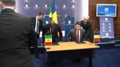 Conferință de presă susținută de Titus Corlățean și Mankeur Ndiaye, ministrul Afacerilor Externe al Republicii Senegal