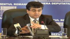 Conferință de presă susținută de grupul parlamentar al PDL