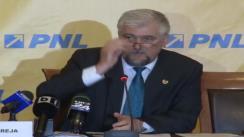 Conferință de presă susținută de vicepreședintele Senatului României, Marius Obreja