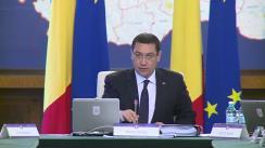 Ședința Guvernului României din 23 aprilie 2014 (imagini protocolare)