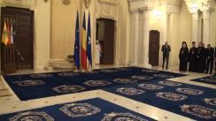 Ceremonia de decorare de către Președintele României, Traian Băsescu, a mai multor prelați din diasporă