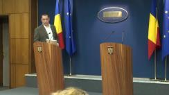 Briefing susținut de prim-ministrul României, Victor Ponta, din 5 mai 2014