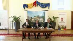 Conferință de presă susținută de conducerea Primăriei municipiului Iași