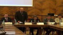 """Deschiderea lucrărilor conferinței internaționale """"Societatea în secolul XXI. Provocări, tendințe, perspective"""", organizată de Societatea Sociologilor din România"""