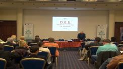 """Conferința națională de specialitate medicală organizată de CNAS privind implementarea proiectului """"Sistemul informatic integrat pentru Dosarul Electronic de Sănătate"""" la Iași"""