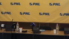 Conferință de presă după Biroul Politic Național al PNL din 16 mai 2014