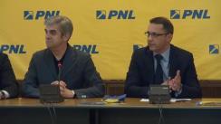 Conferință de presă susținută de coordonatorul PNL București, Eugen Nicolăescu, președintele PNL Sector 3, Florin Alexe, vicepreședinții PNL Sector 3, Cristi Tudorache, Virgil Dracea și Dan Marinescu