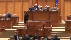 Ședința în plen comună a Senatului și a Camerei Deputaților din 22 mai 2014