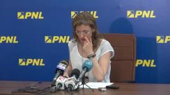 Conferință de presă susținută de deputatul Alina Gorghiu