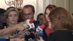 Declarațiile Cristinei Pocora după ședința Biroului Politic Național al PNL din 26 mai 2014
