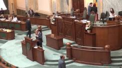 Ședința în plen a Senatului României din 27 mai 2014