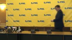Conferință de presă după ședința Delegației Permanente a PNL din 28 mai 2014