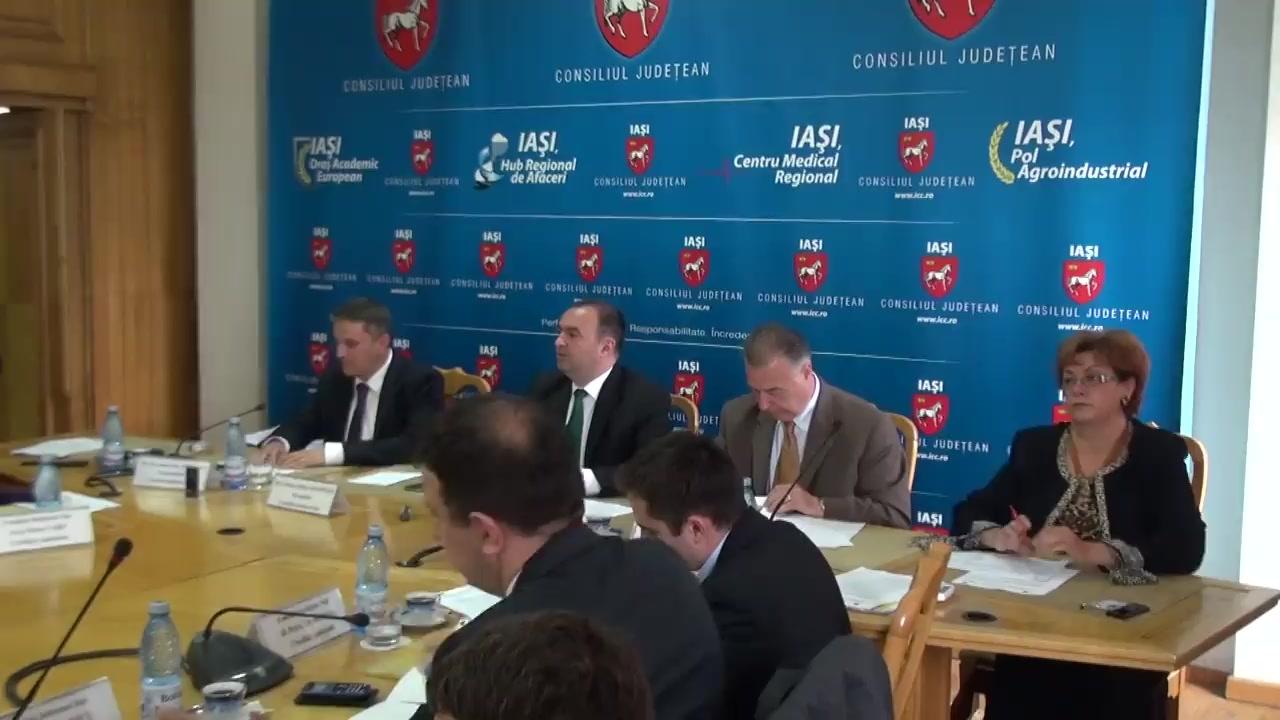 Ședința Consiliului Județean Iași din 30 mai 2014