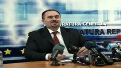 Procuratura Generală - Conferință de presă organizată pentru a clarifica unele zvonuri cu potențial defăimător la adresa instituției