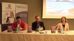 Conferință de presă susținută de Andy Szekely, trainer de dezvoltare personală, Irina VASILESCU, director general Grupul de Companii Centrele de Traduceri  Actadoc și Centrul de Limbi Străine Eurolenguas și Iulian  URSACHE, antreprenor din domeniul imobiliar