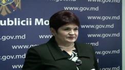 Declarația dnei Valentina Buliga după ședința Guvernului din 17 februarie 2010