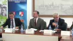 """Semnarea contractului de finanțare pentru proiectul """"Îmbunătățirea capacității și calității sitemului de intervenție în situații de urgență în condiții de iarnă"""" la Consiliul Județean Iași"""