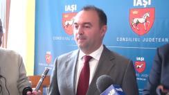 Declarațiile lui Cristian Adomniței, președintele consiliului județean Iași și Constantin Apostol, directorul ADR NORD-EST