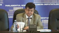 Conferință de presă susținută de liderul grupului parlamentar al PDL, Tinel Gheorghe