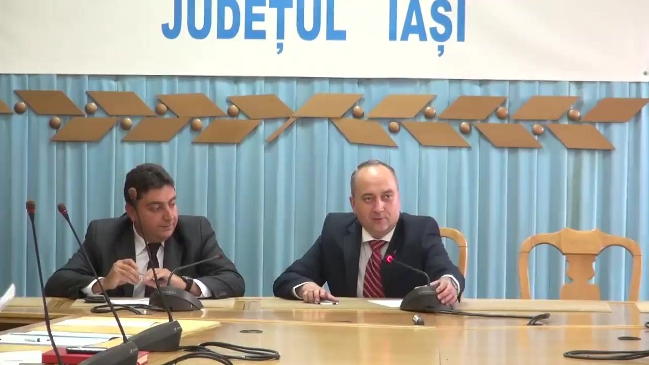 Întâlnirea comitetului consultativ de dialog civic pentru problemele persoanelor vârstnice la Instituția Prefectului - Județul Iași