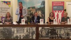 Conferința de deschidere al Festivalului Internațional al Educației ediția a doua