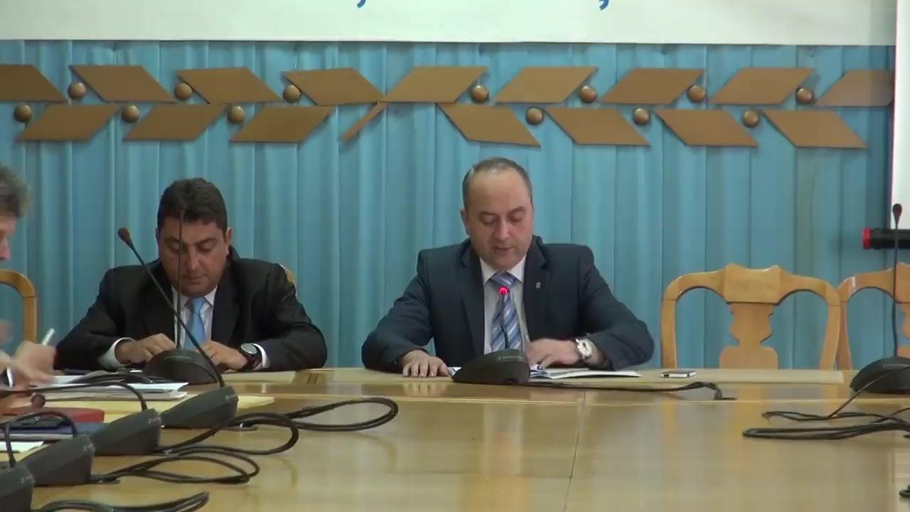Ședința Colegiului Prefectural Iași din 24 iunie 2014