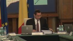 Ședința Guvernului României din 26 iunie 2014 (imagini protocolare)