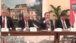 Ședința Comisiei pentru învățământ a Camerei Deputaților, la Iași, în cadrul FIE