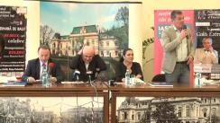 Conferință de presă susținută de organizatorii FIE, Beatrice Rancea și Maestrul Eugen Doga