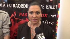 Declarațiile managerului Operei Naționale Române Iași, Beatrice Rancea