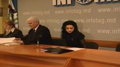 Partidul Umanist din Moldova sustine o conferinta de presa