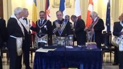 Conferință de presă înainte de congresul Uniunii Mondiale Masonice Tradiționale