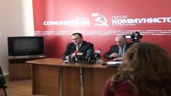 Partidul Comuniștilor din Republica Moldova - Indiferența guvernării față de problemele din agricultură