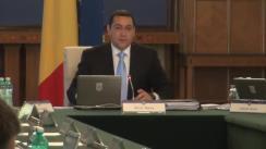 Ședința Guvernului României din 9 iulie 2014 (imagini protocolare)