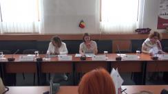 """Dezbaterea cu tema """"Lobby în România vs Lobby în Uniunea Europeană"""""""