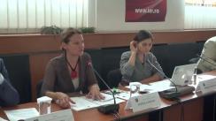 """Dezbaterea cu tema """"Politici de incluziune a romilor în statele membre ale Uniunii Europene"""""""