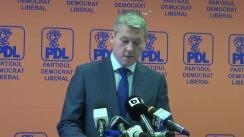 Conferință de presă după Biroul Politic Național al PDL din 16 iulie 2014