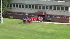 Meciul de rugby între Steaua București - Știința Baia Mare