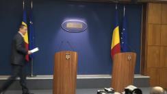Conferința de presă susținută de prim-ministrul României, Victor Ponta, din 29 iulie 2014