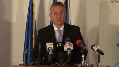 Conferință de presă susținută de președintele FMP, Cristian Diaconescu, cu ocazia împlinirii a doi ani de la referendumul de demitere a președintelui Traian Băsescu