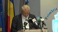 Declarațiile lui Sorin Oprescu după ședința Consiliului General al municipiului București din 30 iulie 2014