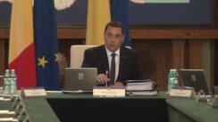 Ședința Guvernului României din 31 iulie 2014 (imagini protocolare)